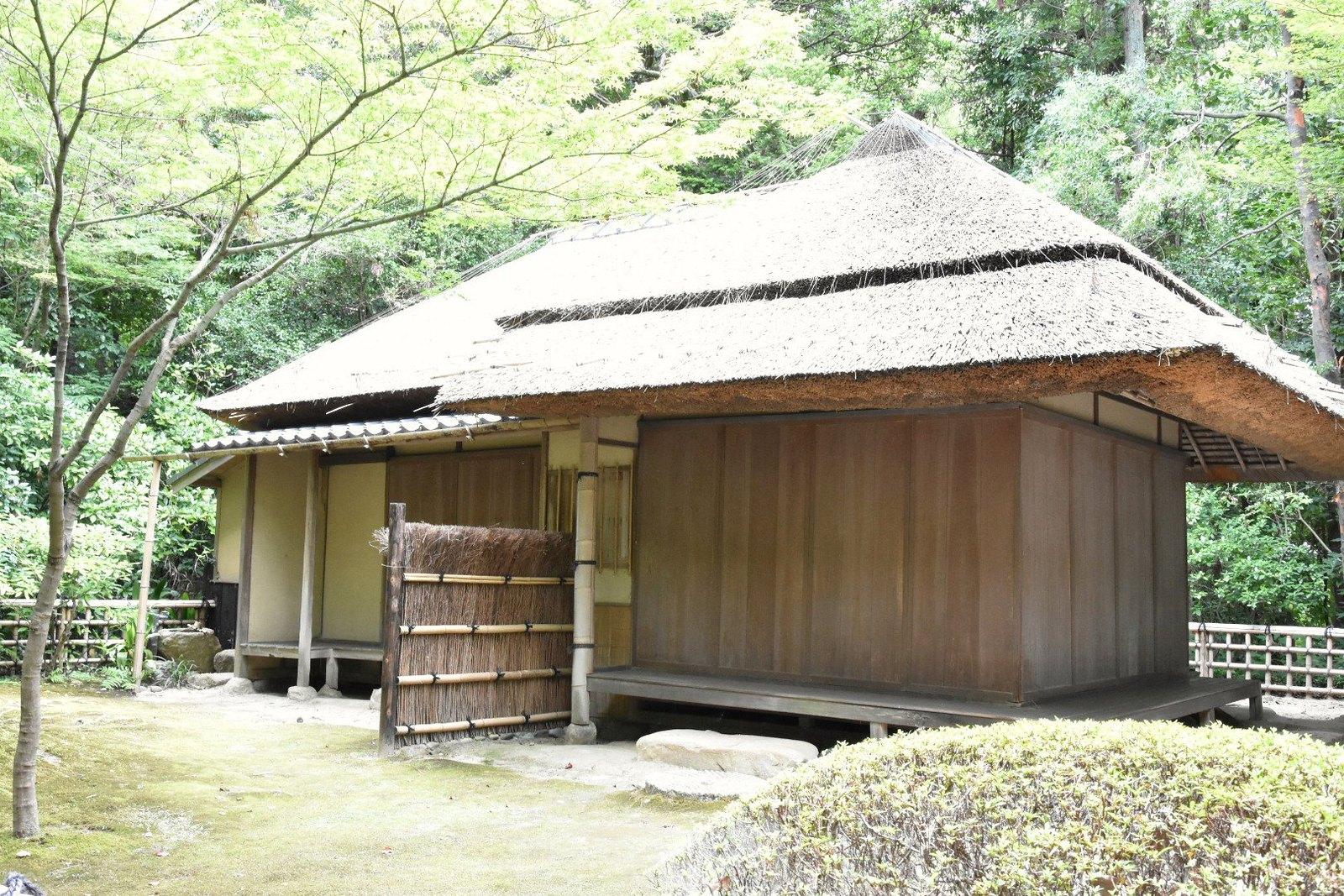 Jardins de Kôraku-en - pavillon de thé