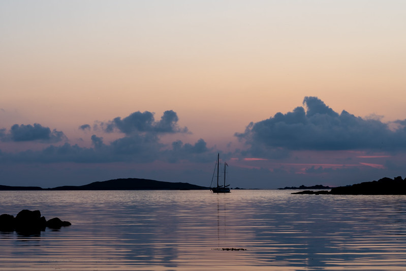 Sunset from Porthloo