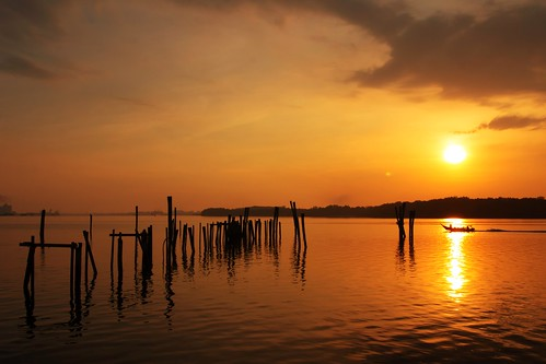 sunrise cloud lumut perak malaysia travel place trip canon eos700d canoneos700d canonlens 10mm18mm wideangle