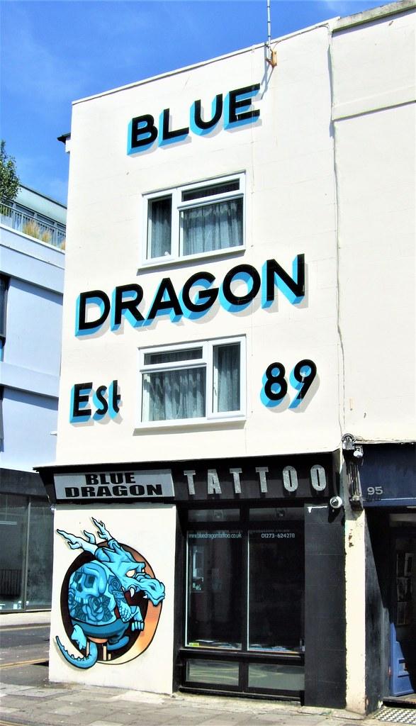 The Blue Dragon Tattoo Shop North Laine Brighton Flickr
