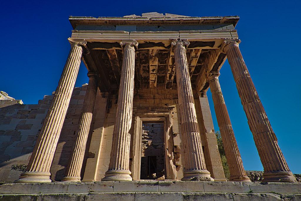 Erecteion Atenas De Orden J 243 Nico 225 Ptero Atribuido Al