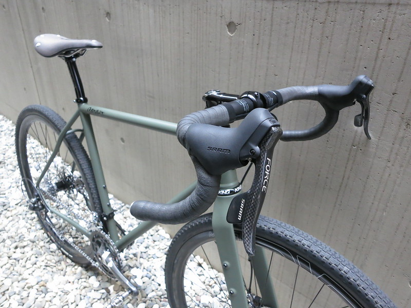 Corner Bikes Gravel Road Front