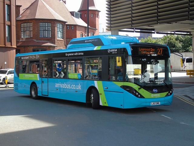 Arriva Merseyside 7003 (LJ67 DME)
