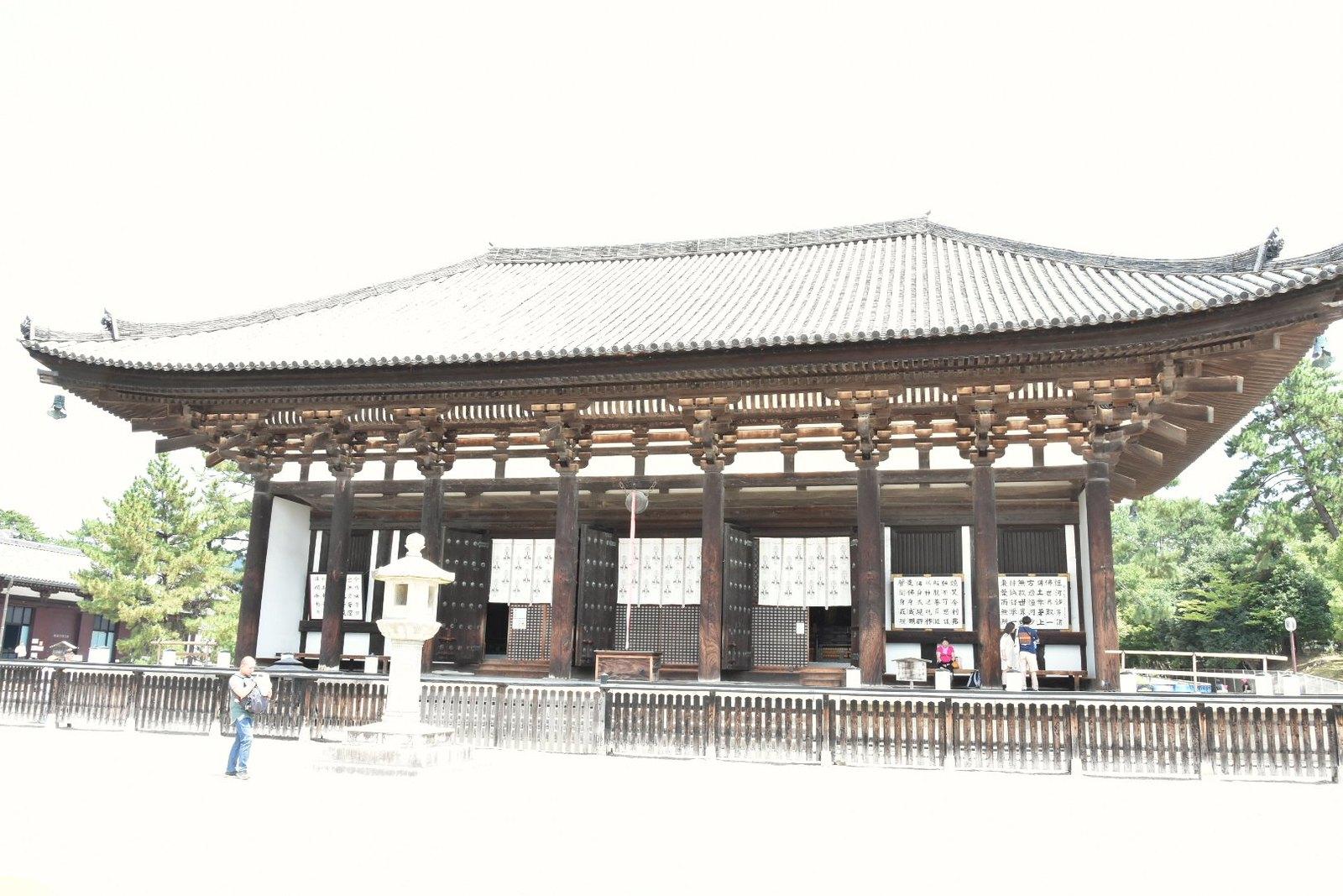 Nara - Musée du trésor, Temple de Kofuku-ji