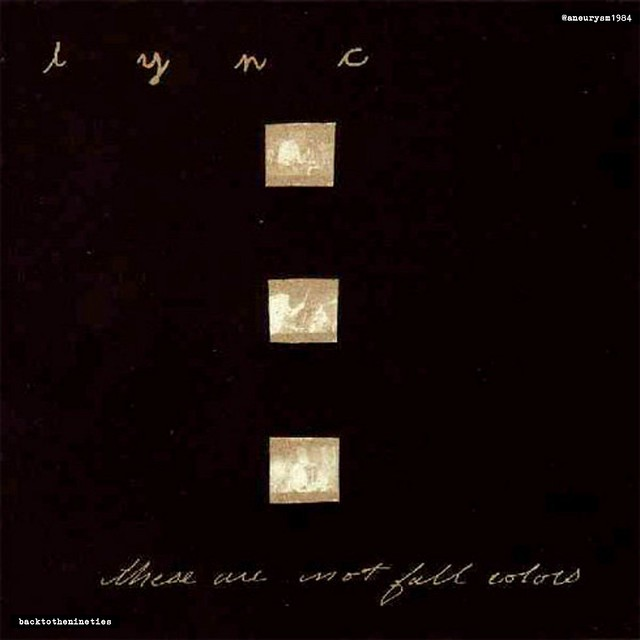 #HappyAnniversary 24 years #Lync #TheseAreNotFallColors #album #post #hardcore #emo #indie #music #90s #90smusic #backtothe90s #SamJayne #JamesBertram #DaveSchneider #JeremiahGreen #JoshWarren #backtothenineties #90sband #90salbum #90sCD