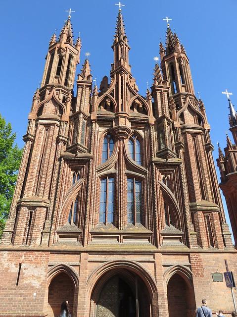 Church of Saint Anne (Vilnius, Lithuania)