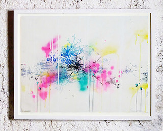 JP MALOT 'Tags & Abstract'. Art on paper.