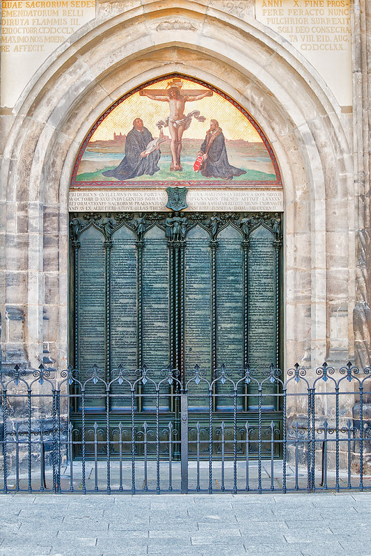 Luther's 95 Theses - Wittenberg