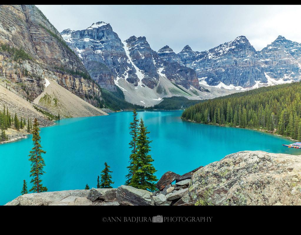 Moraine Lake In Banff National Park Alberta Canada Flickr