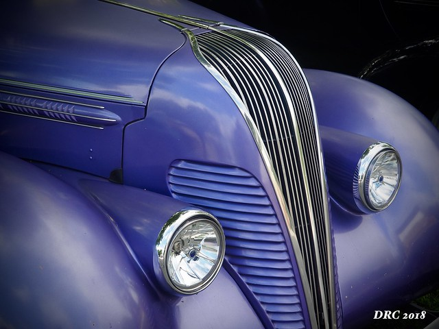 Purple Hot Rod at Macungie