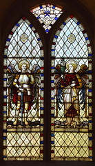 St Michael and St Gabriel (Clayton & Bell, 1886)