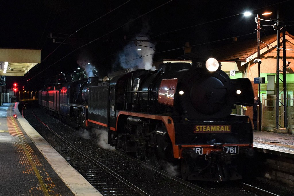 Steamrail Victoria - Snow Train by Shawn Stutsel