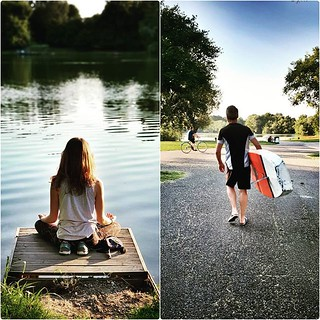 People of Milan #people #life #milano #milAmo #park #lake #water #sunset #nature #sport #yoga #igersmilano #igers #igersitalia #photooftheday #city #picoftheday #relax #summer #sky #sup #standuppaddle #italy #garden | by Mario De Carli