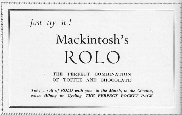 Ad in The Columban Annual.