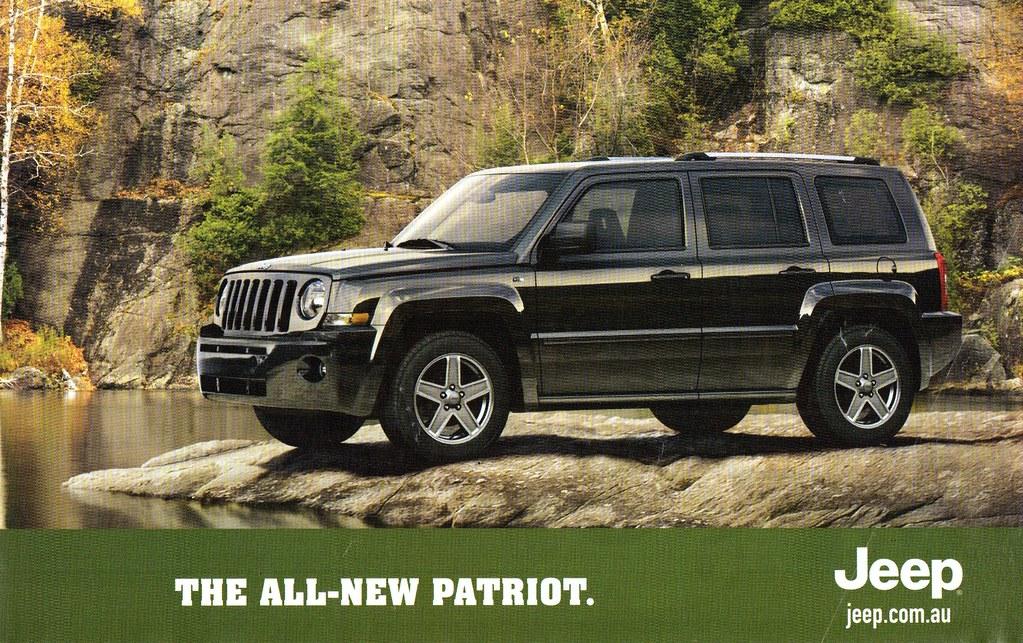 2008 jeep patriot 2 4 litre petrol 2 litre diesel 4wd suv. Black Bedroom Furniture Sets. Home Design Ideas