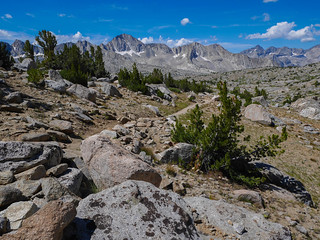 Looking back as we climb towards Bishop Pass | by snackronym