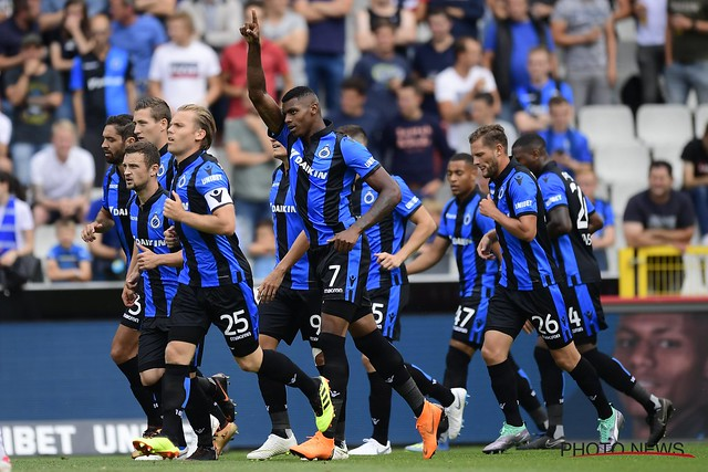 Club Brugge - Eupen 29-07-2018