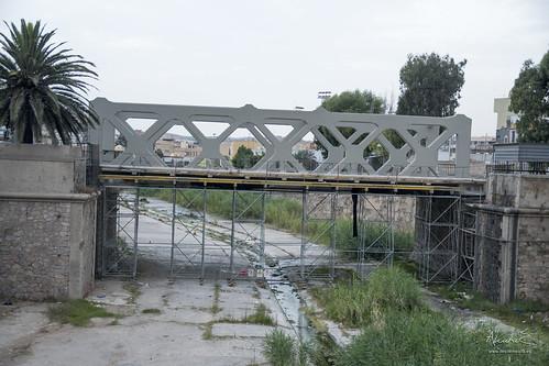Puente sobrre Rio de Oro, Melilla
