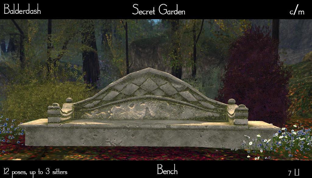 Remarkable Balderdash Secret Garden Bench Now Out At Swank Maps Andrewgaddart Wooden Chair Designs For Living Room Andrewgaddartcom