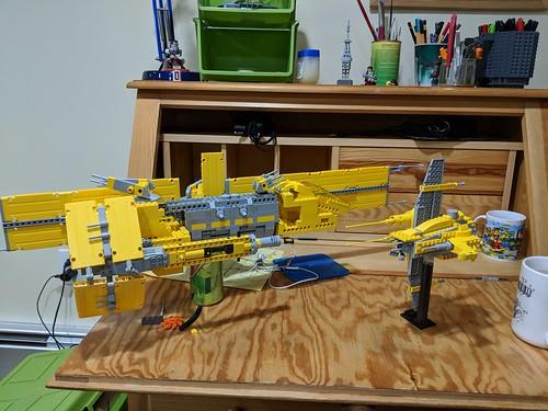 Yellow Starfighter WIP | by Ninja_Bait