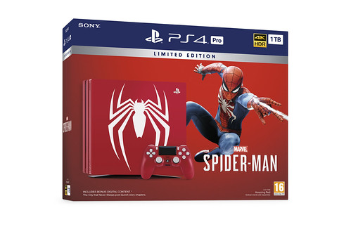 PS4_B1TB_Pro_Marvels_Spiderman_LE_Packshot_3D_ENG | by PlayStation Europe