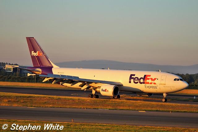 FedEx A300-600 (N680FE) @ Dublin Airport