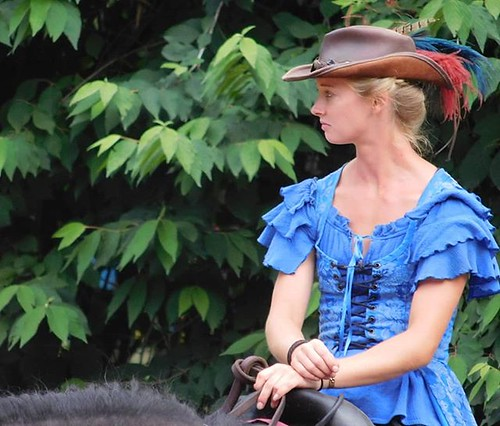 Milady In Blue. #sterlingrenaissancefestival #renfest #renfaire
