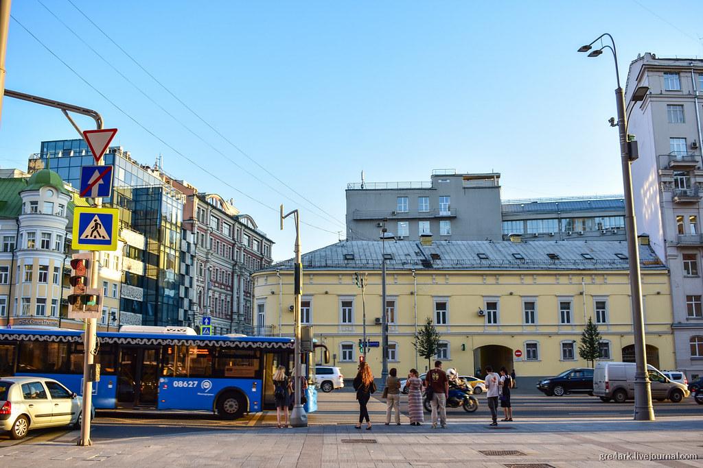 Общественный транспорт в центре Москвы: три года после больших изменений