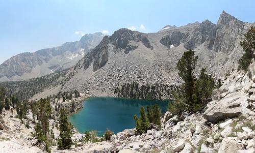 0123 Heart Lake from the Kearsarge Pass Trail with Independence Peak on the left | by _JFR_