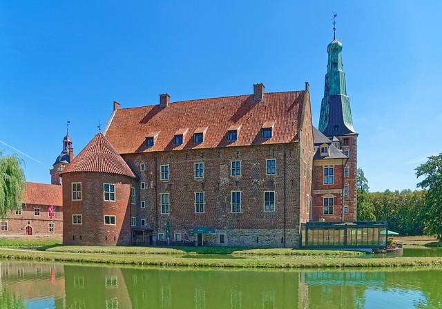 Rückseite Schlosss Raesfeld