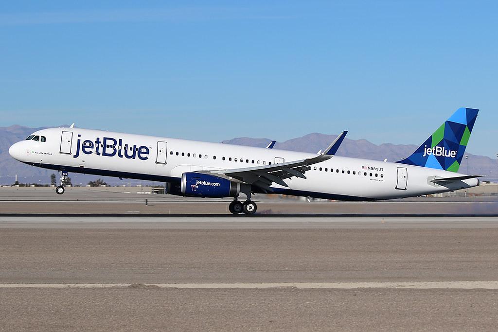 jetBlue Airways Airbus A321-231 N989JT at KLAS