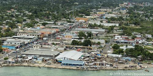 savannalamar downtown westmoreland town aerial jamaica caribbean travel vacation tourism island aerialphoto realestate land property coast ocean city port sav jm 16794264021