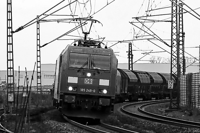 Train 185 249-0 DB - Freight train