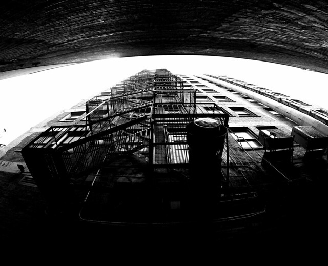 Fire Escape Downtown Montreal