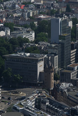 Frankfurt from above