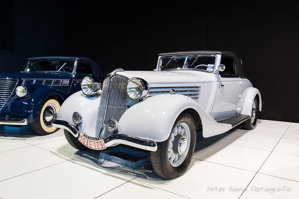 Renault Nervasport Convertible - 1935