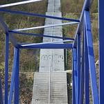 Treppenaufgang im Süden der Halde Beckstraße