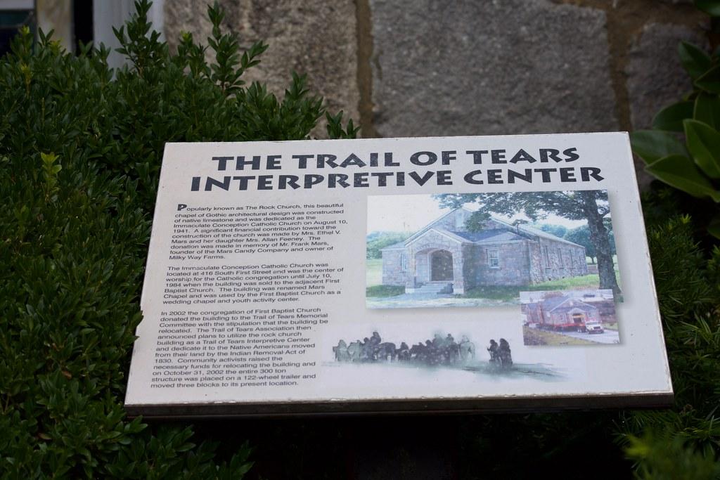 The Trail of Tears Interpretive Cen   2018 JULY 31, Pulaski