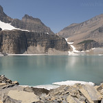 Upper Grinnell Lake with Salamander Glacier