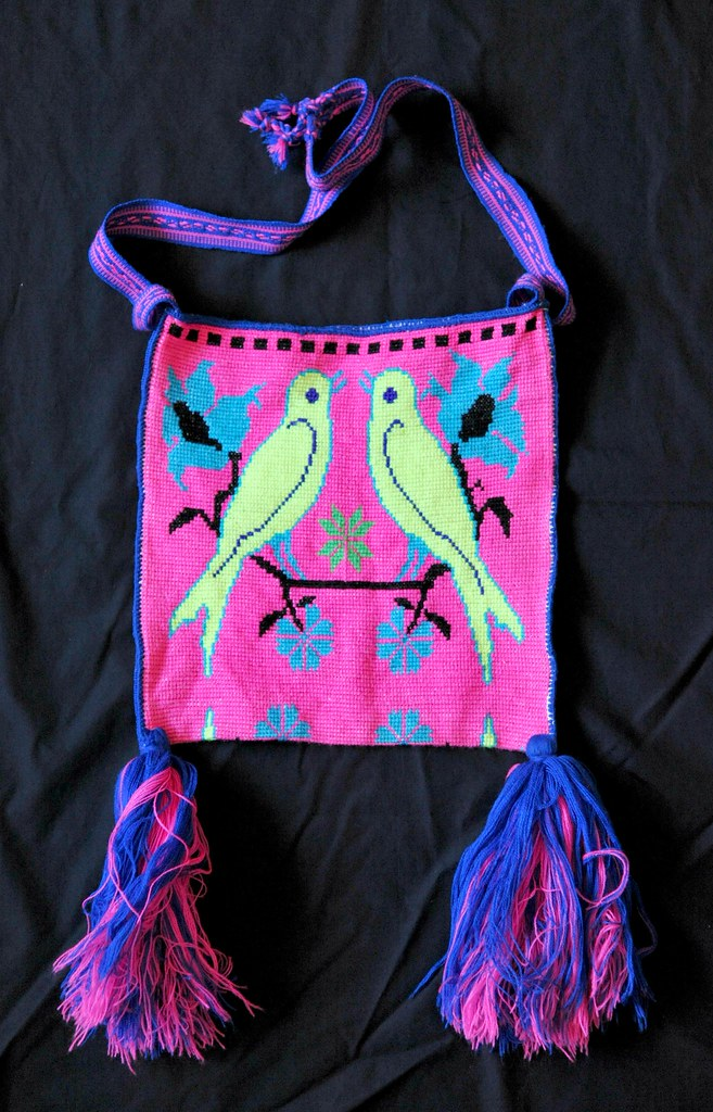 Embroidered Morral