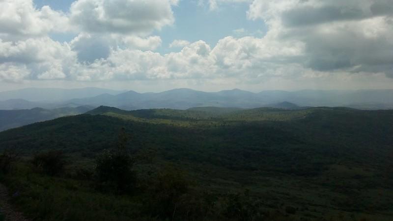 Pogled sa 1500 metara visine