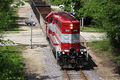 train railroad railway railfan wisconsinandsouthern wsor wamx watco emd sd40 sd40m2 locomotive