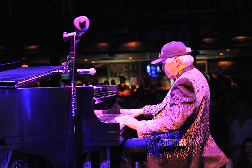 Bob Seeley at WWOZ's 30th Annual Piano Night - April 30, 2018. Photo by Michael E. McAndrew Photography.