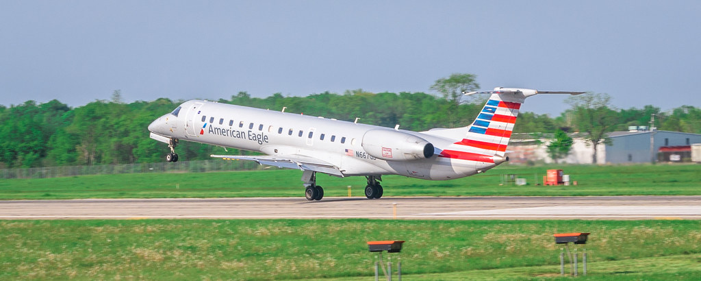 American Erj 145 Azo American Airlines American Eagle