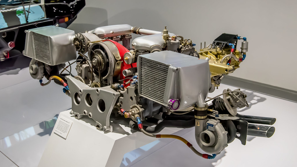 Porsche Type 935 76 Flat 6 Engine The Petersen Museum 20180213 D75 2808 A Photo On Flickriver