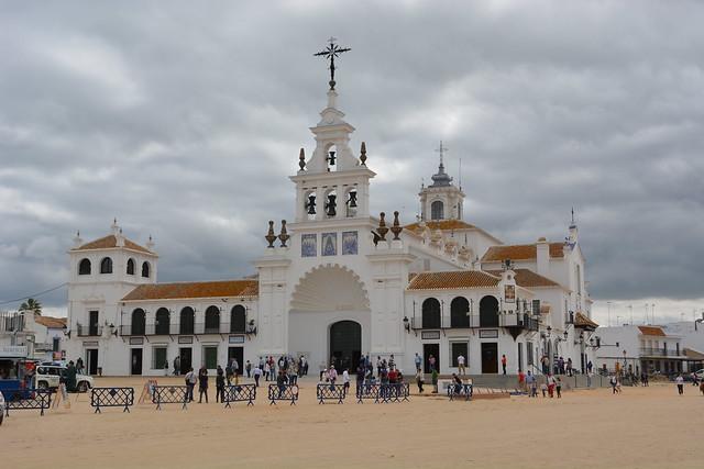 Ermita de El Rocío, provincia de Huelva, España.