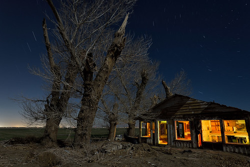 eyetwistkevinballuff eyetwist night abandoned ruins farmhouse mojavedesert antelopevalley nikon nikond7000 d7000 nikkor capturenx2 1024mmf3545g 1024mm lightpainting protomachines fullmoon dark longexposure moonlight npy nocturne highdesert california mojave desert moon long exposure wideangle light painting horizon forgotten ruin lancaster decay house shack wood crumbling architecture peeling faded weathered clouds stars urbex alfalfa farm sky clapboard saturated av antelope valley green homestead cottonwood tree shattered limbs winter startrails airplane streak landscape oncewashome