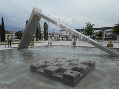 giochi d'acqua, piazza Europa, Noventa Padovana