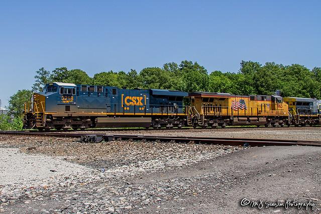 CSX 3218 | GE ES44AC-H | UP Memphis Subdivision