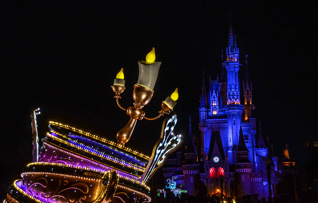Lumiere castle Dreamlights TDL